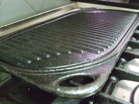 grille en fonte