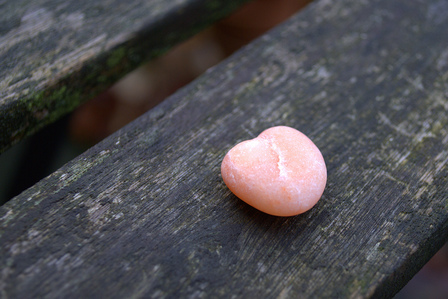 Pink heart of stone by dmpop (c) http://www.flickr.com/photos/dmpop/4114490595/