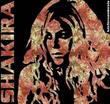 Shakira by Luis Fernando y Sonia Maria (c) http://www.flickr.com/photos/7477245@N05/5375147161/