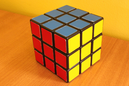 Rubik's Cube (c) by SoheilK http://www.flickr.com/photos/soheilk/4438771159/