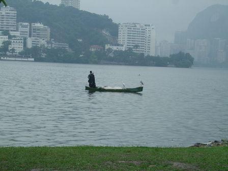 Rio de Janeiro sous la pluie.